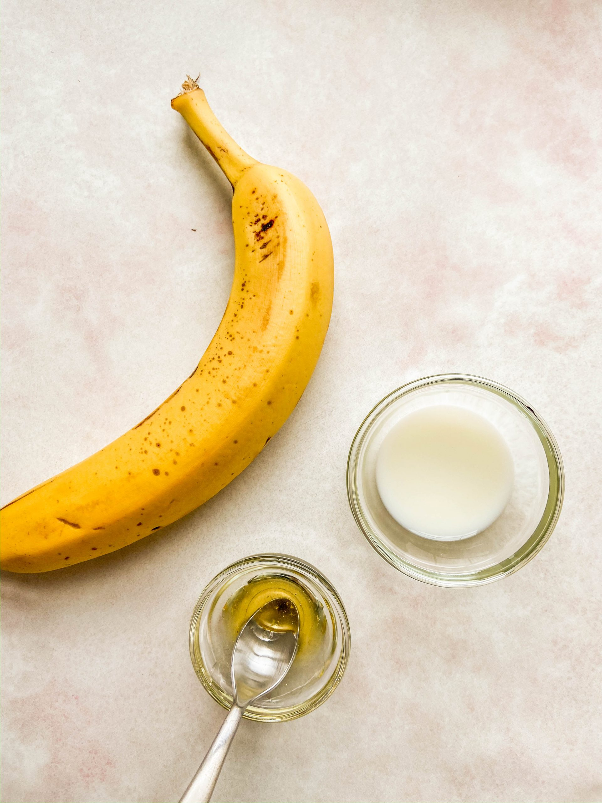 Ingredients for DIY Banana Face Mask