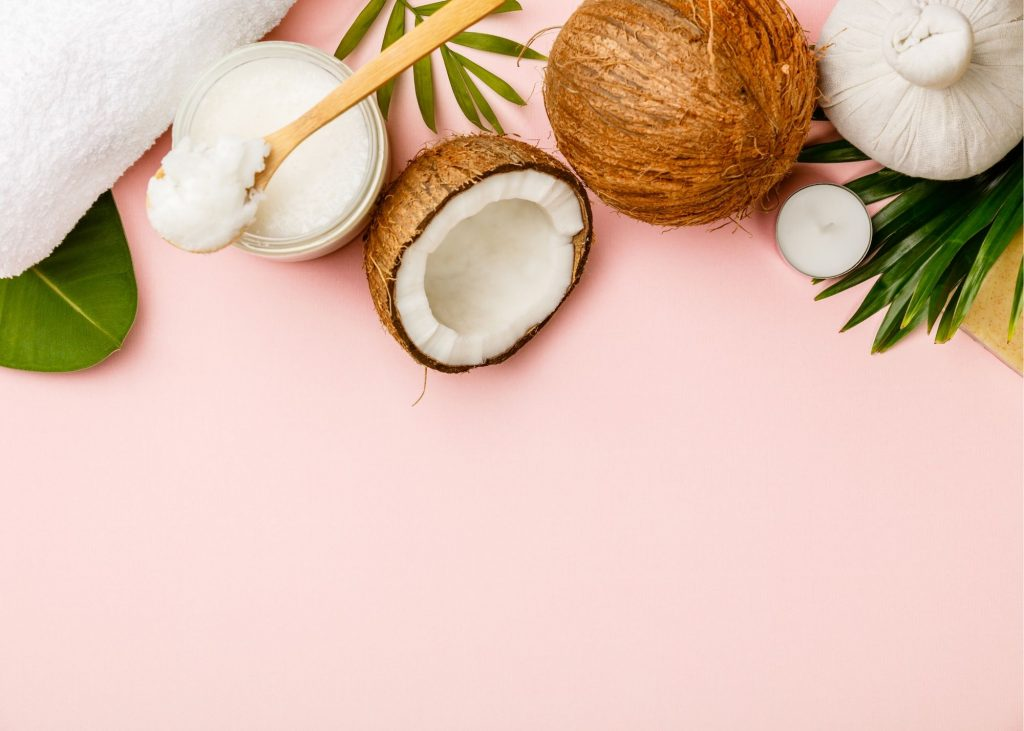 Coconut oil for DIY hair masks
