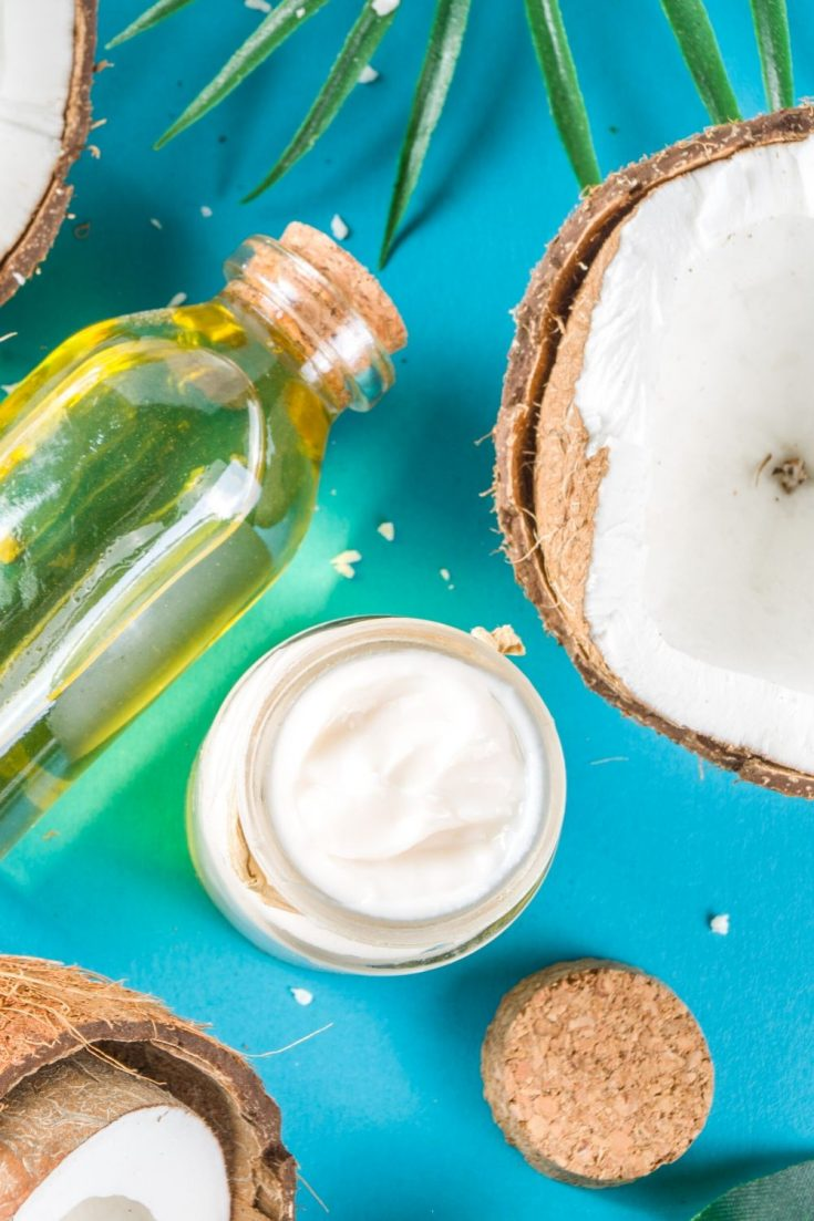 Coconut Oil Hair Mask for Dandruff