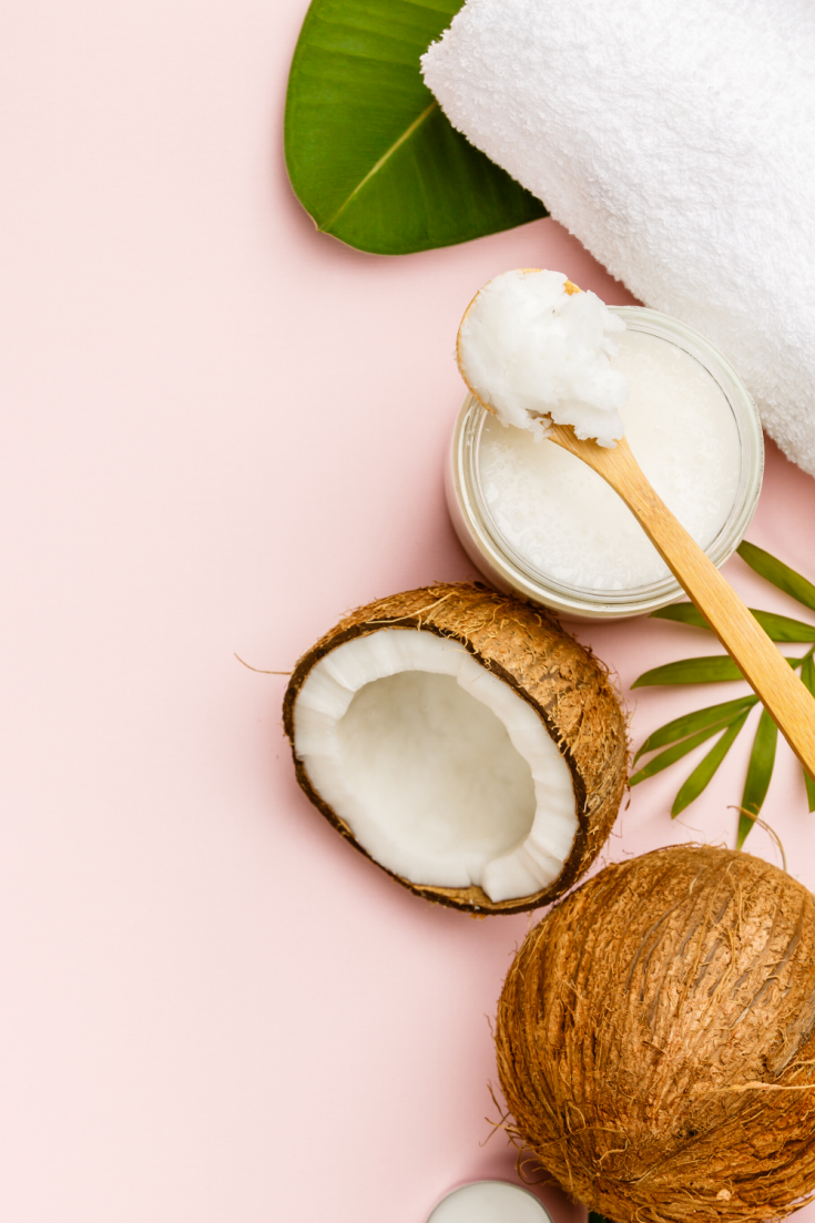 DIY Coconut Oil Hair Mask for Dry Hair